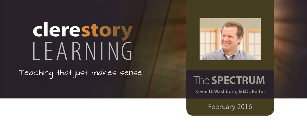 Clerestory Learning Newsletter - February 2016