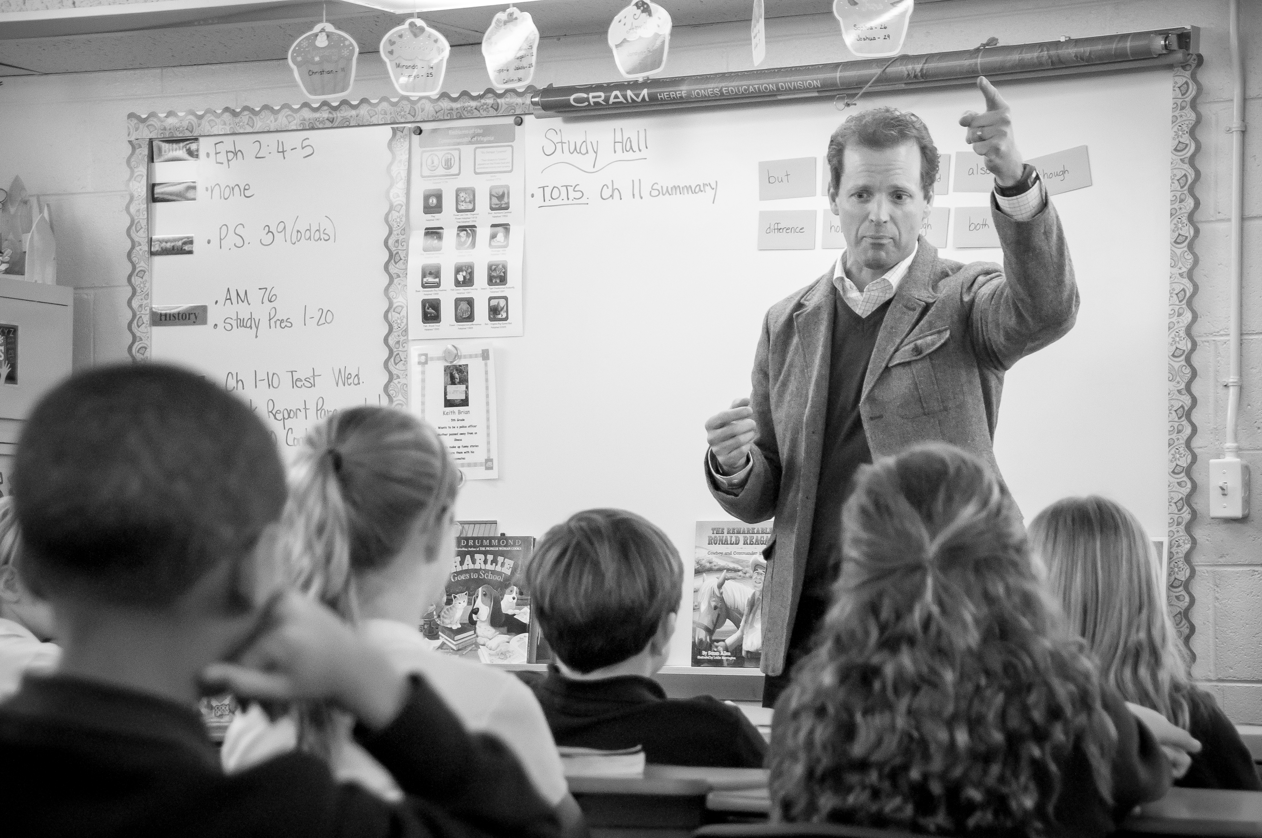 School Classroom Visit + Staff In-Service, Fredericksburg VA